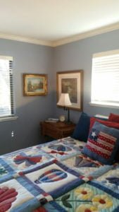 Blue is a great color with antiques